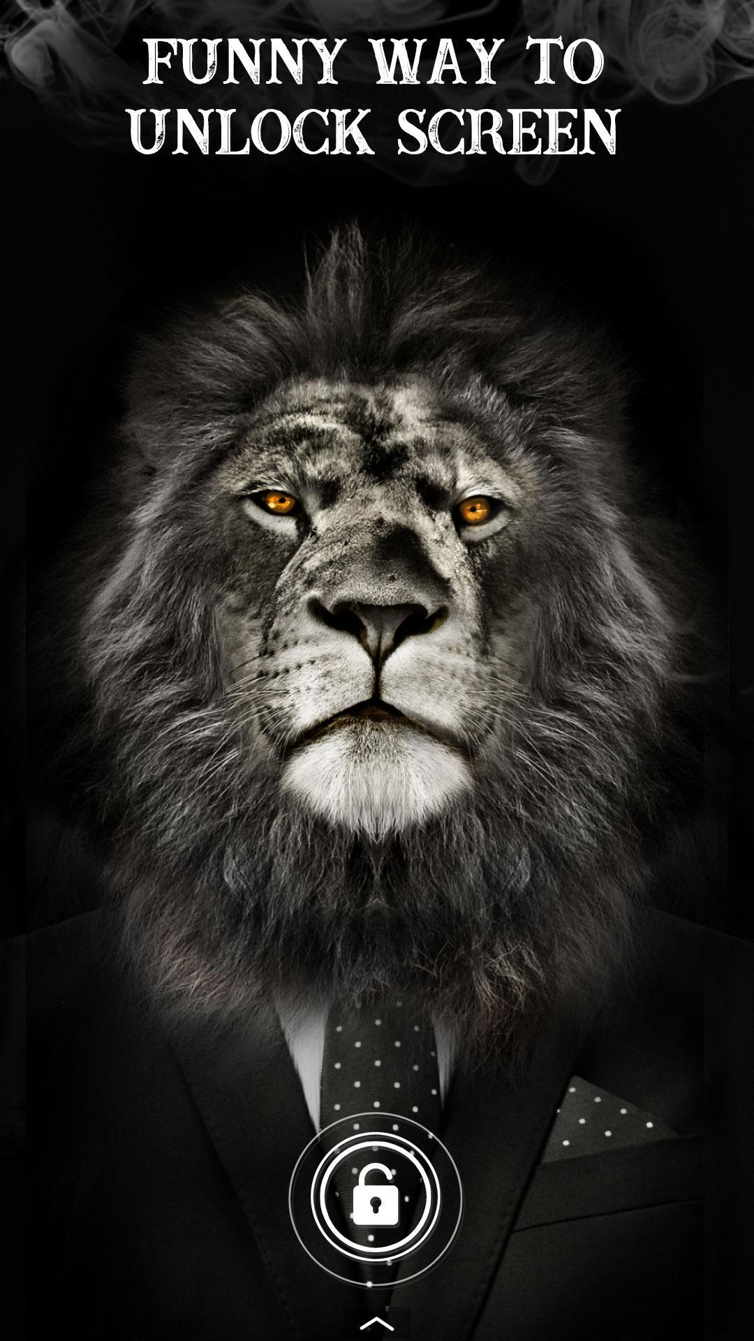 Cool Lion Lock Screen For You For Android Apk Download