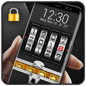 Briefcase lock screen for android phone icon