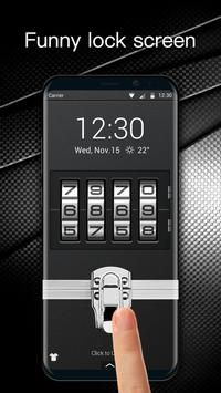 Briefcase lock screen for android phone screenshot 1