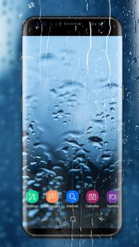 Running Waterdrops Live Wallpaper poster