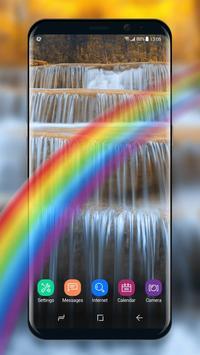 Live Wallpaper Waterfall& Swan screenshot 5