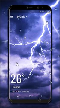 Real Time Weather Live Wallpaper poster Real Time Weather Live Wallpaper screenshot 1 ...