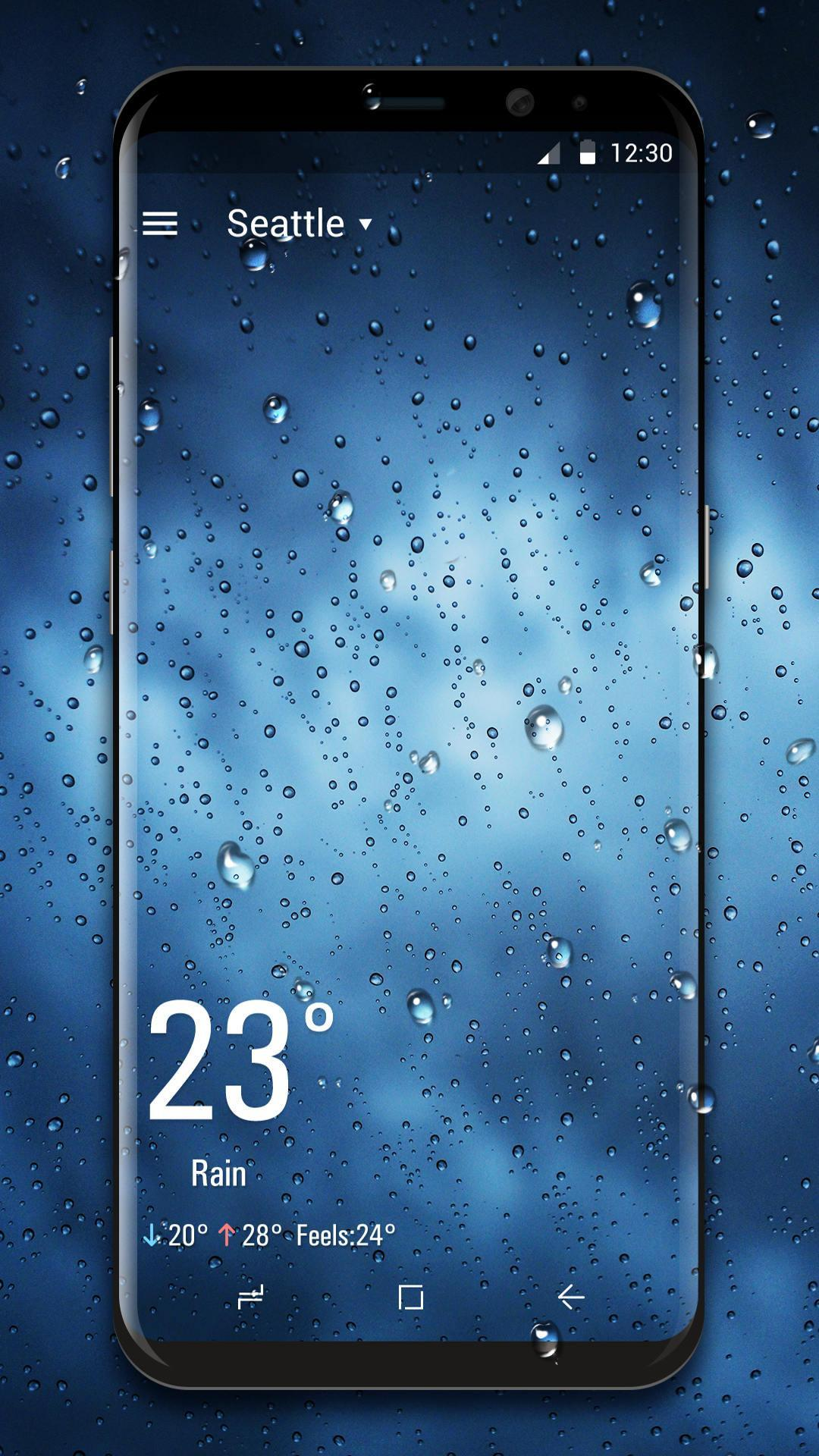 Real Time Weather Live Wallpaper For Android Apk Download