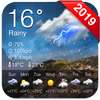 Accurate Weather Live Forecast App أيقونة