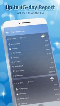 Accurate Weather Forecast App & Radar screenshot 5