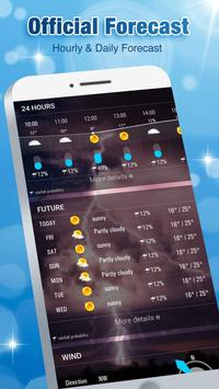 Accurate Weather Forecast App & Radar screenshot 1