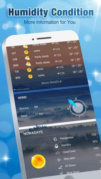 Accurate Weather Forecast App & Radar screenshot 2