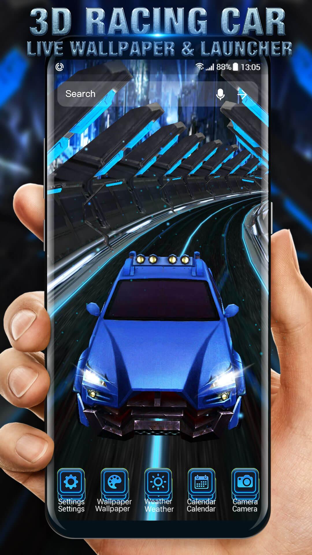 3d Racing Car Live Wallpaper For Android Apk Download