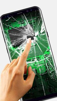 Broken Glass Wallpaper for Android screenshot 1