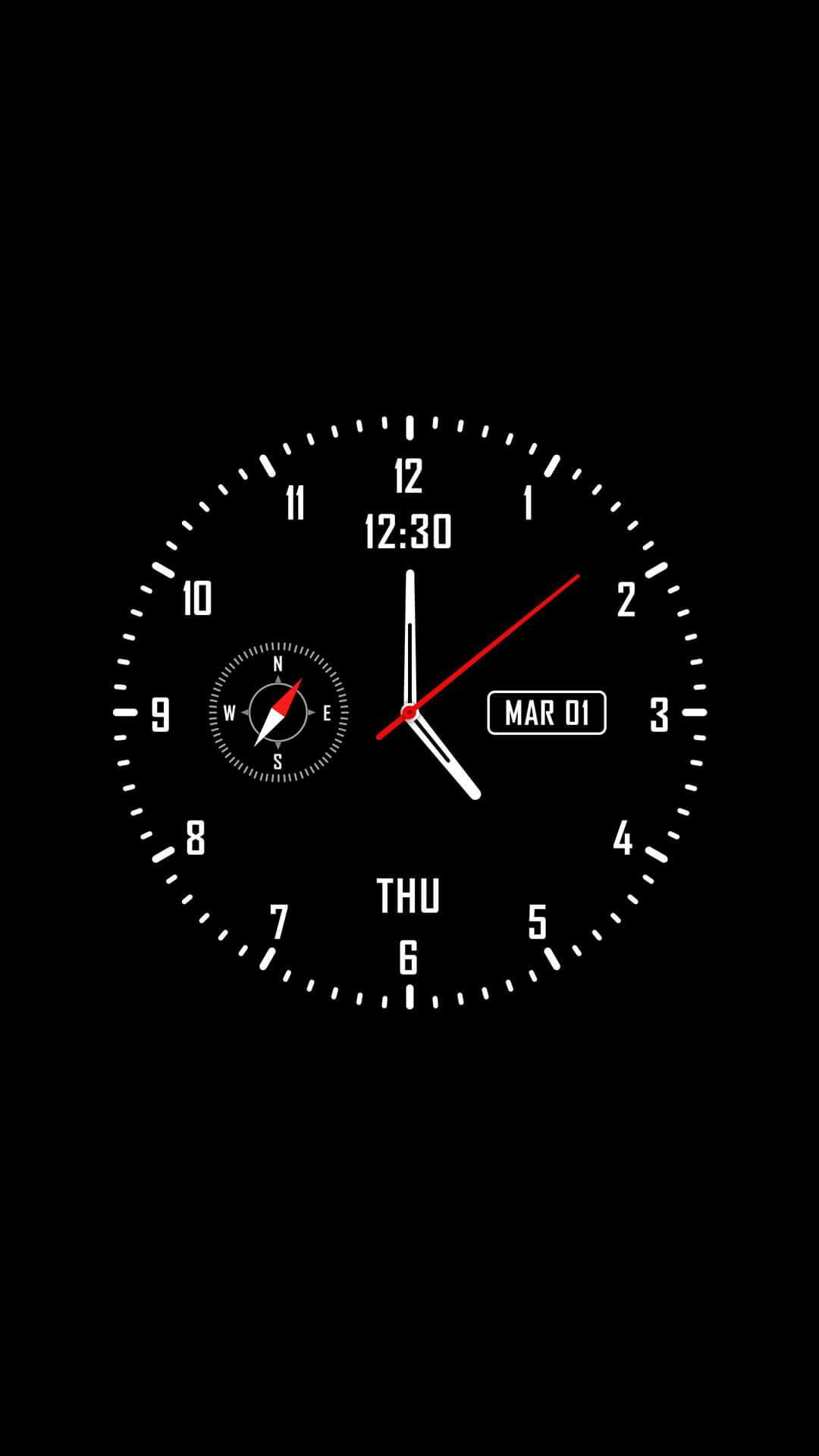 Analog clock & watch face live wallpaper for Android - APK Download