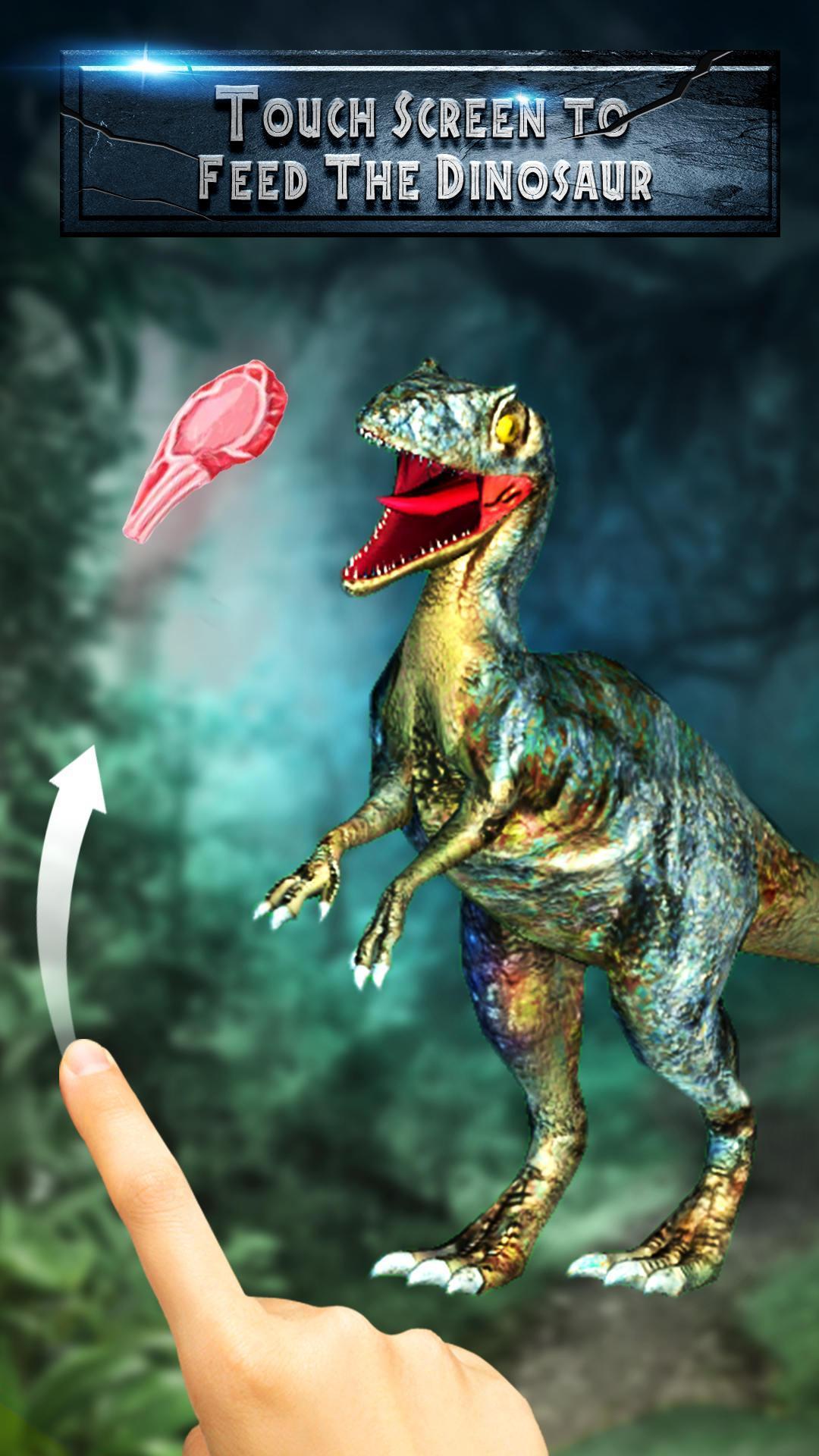 3d Jurassic Dinosaur Live Wallpaper Launcher For Android
