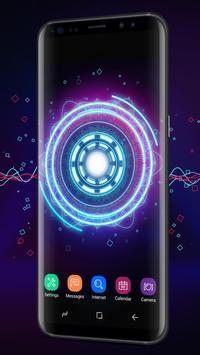Fancy Neon Spinner Live Wallpaper screenshot 2