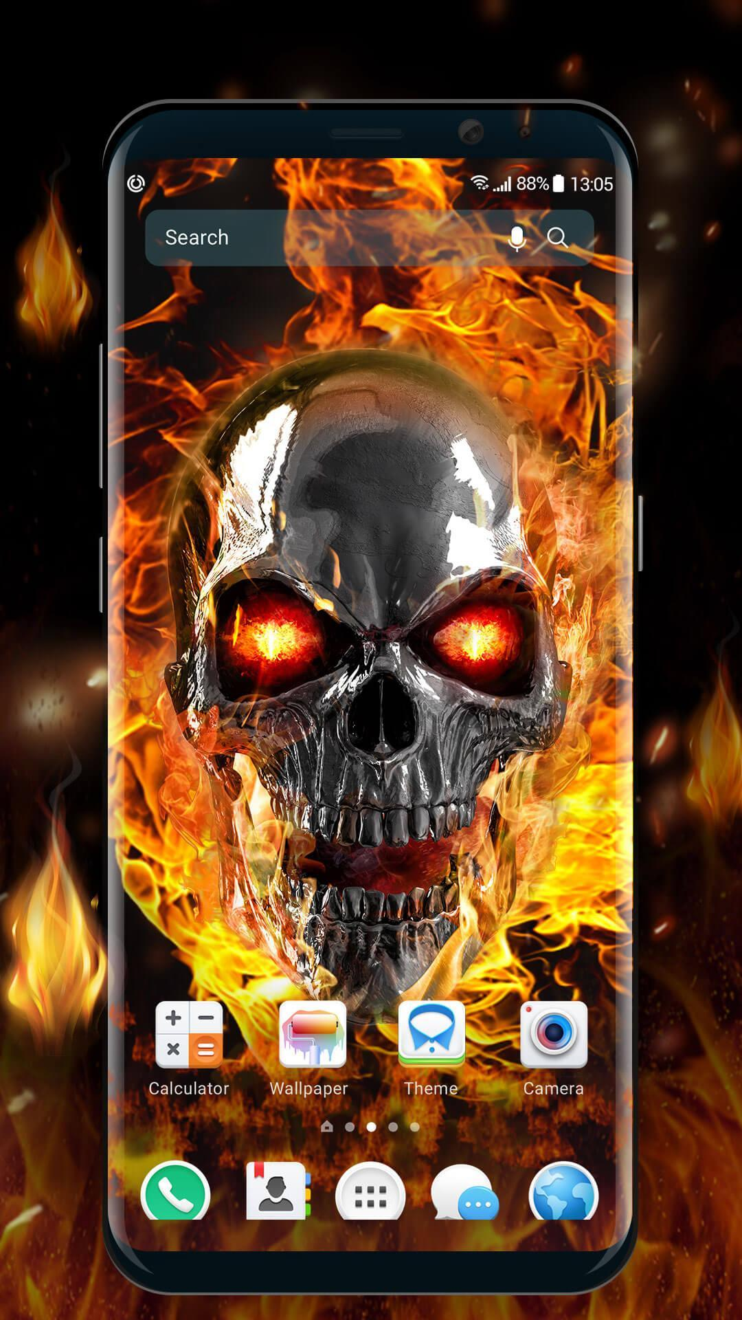 Skull Live Wallpaper 3d Free Download