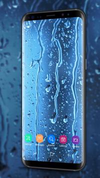 Waterdrops - Real Rain Live Wallpaper poster