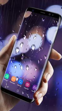 Waterdrops - Real Rain Live Wallpaper screenshot 2