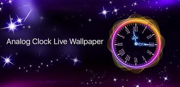 Running Clock Live Wallpaper