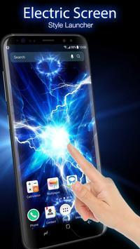Электрический Экран Launcher для Шалости постер