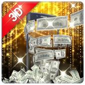 Money live wallpaper icon