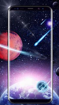 Space HD wallpaper Free poster