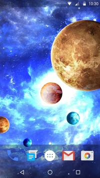 Space Style Live Wallpaper Free screenshot 3