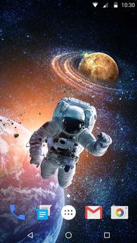 Space Style Live Wallpaper Free screenshot 1