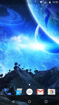 Space Style Live Wallpaper Free screenshot 2