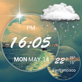 weather air pressure app &world weather report icon