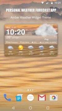 New Weather App & Widget for 2018 screenshot 1