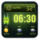 Weather Forecast Widget with Battery and Clock APK