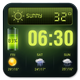 Weather Forecast Widget with Battery and Clock APK image thumbnail