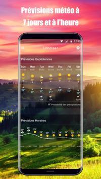 Widget de prévision météo capture d'écran 3