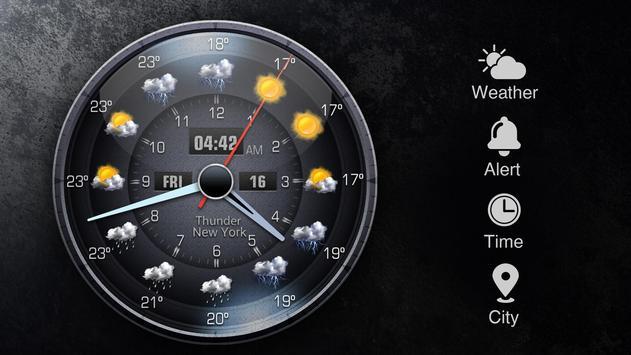 Widget de prévision météo capture d'écran 11