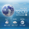 Daily&Hourly weather forecast 图标