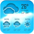 Free weather forecast app& widget
