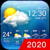 Icona Widget delle previsioni del tempo