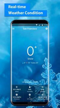 Widget de pronóstico del tiempo captura de pantalla 2