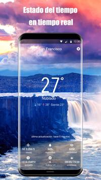 Widget de pronóstico del tiempo captura de pantalla 5
