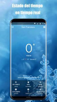 Widget de pronóstico del tiempo captura de pantalla 6