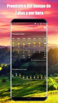 Widget de pronóstico del tiempo captura de pantalla 7