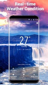 5 Schermata Widget delle previsioni del tempo