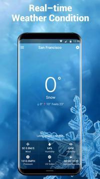 6 Schermata Widget delle previsioni del tempo