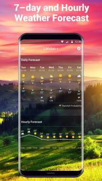 7 Schermata Widget delle previsioni del tempo