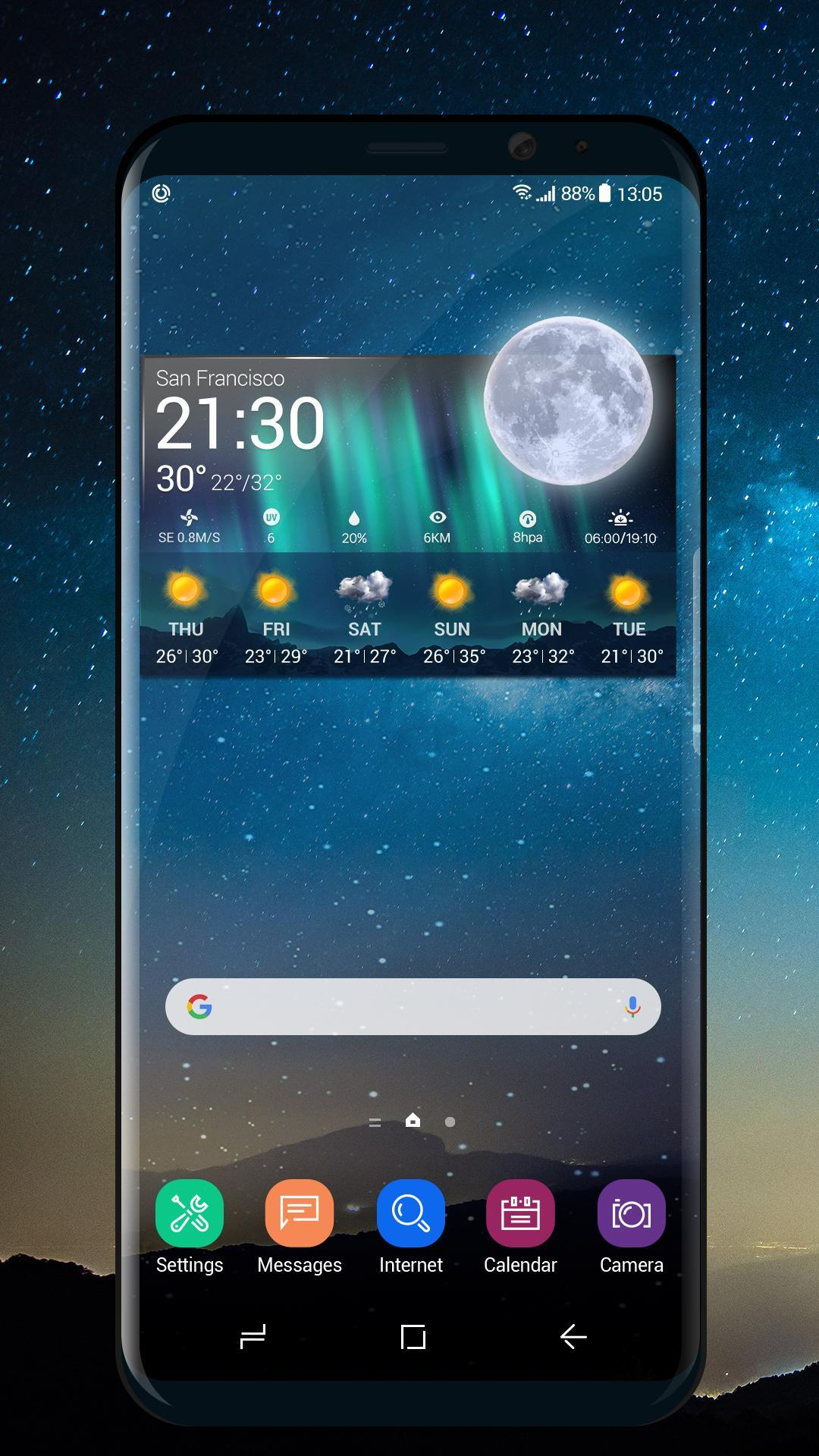 weather and temperature app Pro for Android - APK Download