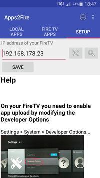 Apps2Fire screenshot 2