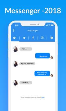 Messenger 2018 - All Social Networks screenshot 3