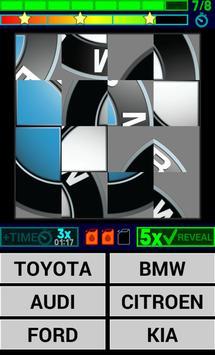 Cars Logo Quiz HD screenshot 1