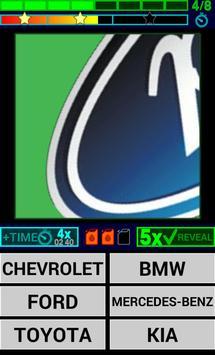 Cars Logo Quiz HD screenshot 2