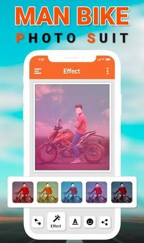 Man Bike Rider Photo Editor screenshot 1