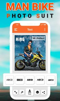 Man Bike Rider Photo Editor screenshot 2