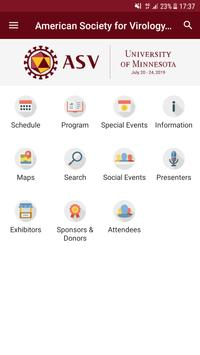 ASV Annual Meeting screenshot 1